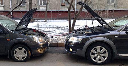 """Правильно """"прикуриваем"""" автомобиль"""