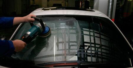 Как правильно полировать стекла на авто