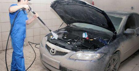 Тонкости при мойке двигателя автомобиля