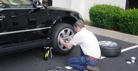 Как правильно прикрутить колесо