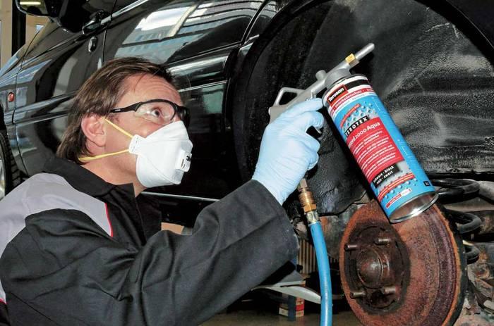 Обработка кузова автомобиля от коррозии своими руками