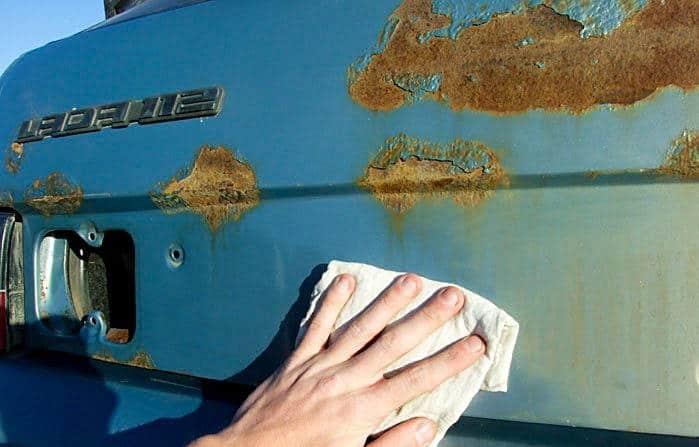 Убираем ржавчину с авто своими руками